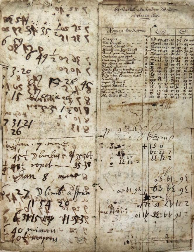 Example of notation in Operum Mathematicorum Tonus Quintus. Christopher Clavius, Mainz, 1612.