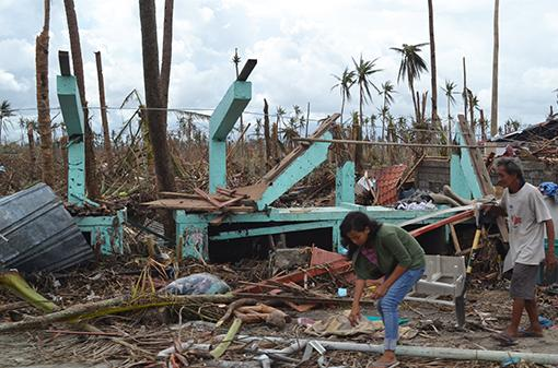 Typhoon Haiyan Damage, Tacloban.