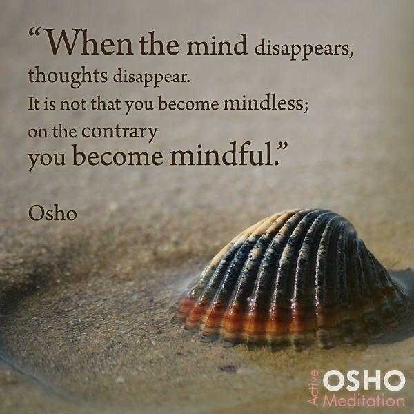 Thought for the Week; Mindfulness