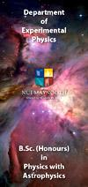 Experimental Physics - astrophysics degree thumbnail - Maynooth University