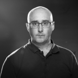 David Prendergast Profile Picture Black and White