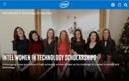 Intel Women in Technology Scholarships