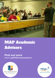 MAP Academic Advisors Poster