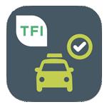 Taxi check app logo (Apple)