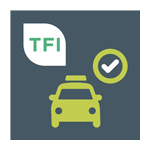 Taxi check app logo (Android)