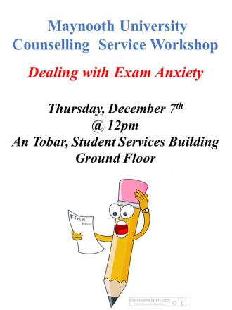 Dealing with Exam Anxiety Workshop