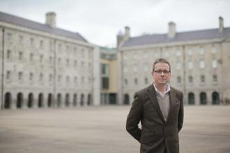 History - Ian Speller in Collins Barracks - Maynooth University