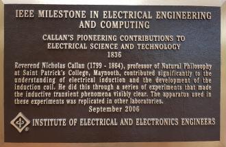 IEEE Milestone Plaque