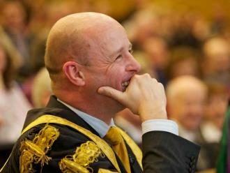 President - Professor Philip Nolan Laughing - Maynooth University