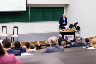 EU Commissioner Phil Hogan, gives his Keynote
