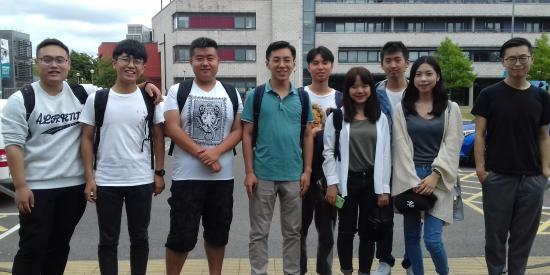 10 Week Pre-sessional English Language Students 2018