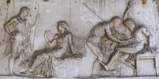 Ancient Classics - Telephus relief, Herculaneum - Maynooth University