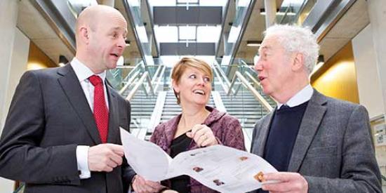 3U Leadership Symposium - Prof Philip Nolan, Prof Sharon Todd, Prof Richard Pring - Maynooth University