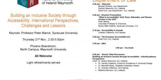 ALL 4th Symposium Agenda