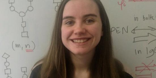 Aoife Harbison, PhD student at the Department of Chemistry