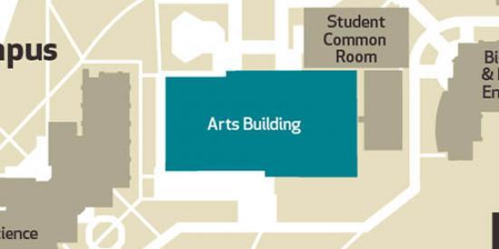 Arts block location - Maynooth University