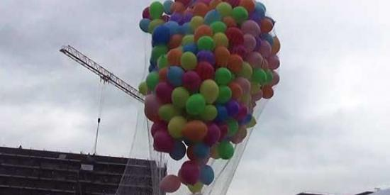 Communications & Marketing - Soar balloons Students union- Maynooth University