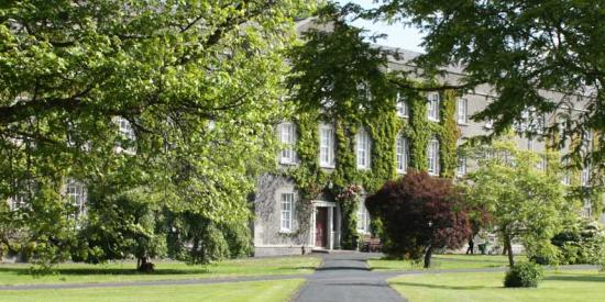 Micheal Bolger - door to new house - Maynooth University