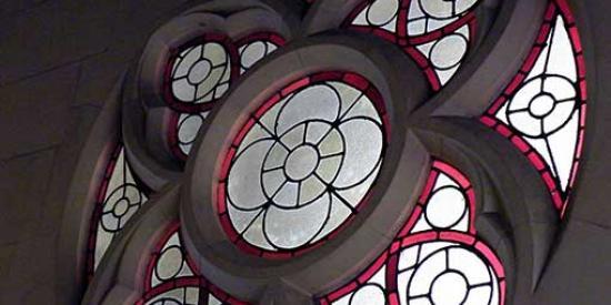 History - Chapel window - Maynooth University