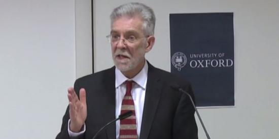 Prof. David Scourfield delivers the 2017 Fowler Lecture at the University of Oxford