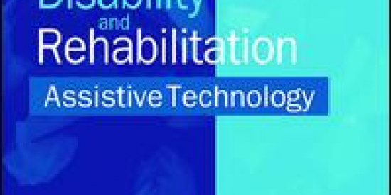 Disability & Rehabilitation: Assistive Technology Cover Page