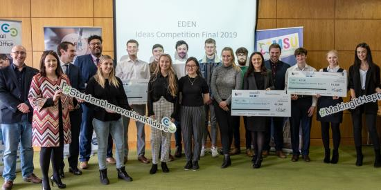2019 Eden Ideas Competition winners