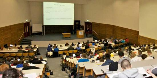 Economics - Lecture Hall - Maynooth University