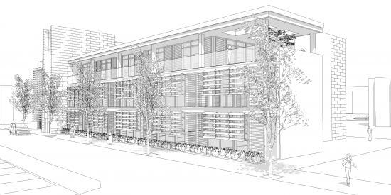 Education Hub Architectural drawing