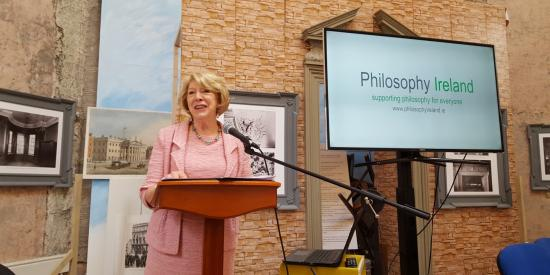 Sabina Higgins back campaign for teaching philosophy in schools