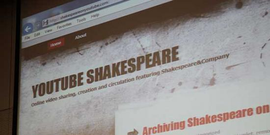 English - YouTube Shakespeare Screen - Maynooth University