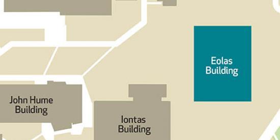 Maynooth University - Eolas Building Map