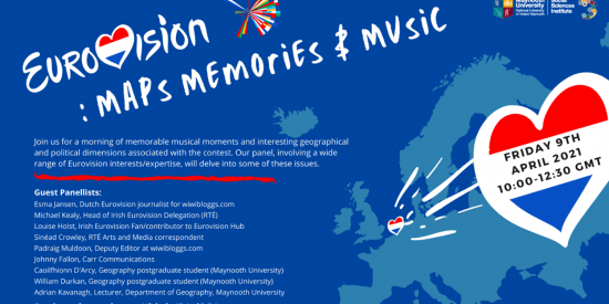 Poster for Eurovision: Maps, Memories &Music
