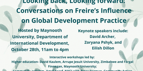 Looking back, Looking forward: Conversations on Freire