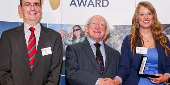 Communications - Gaisce Shay Claffey Michael D Higgins Michelle Murphy - Maynooth University