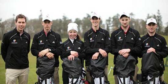 Golf - Team2014 - Maynooth University
