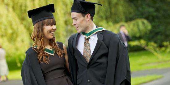 Graduation 2012 - male and female international  - Maynooth University