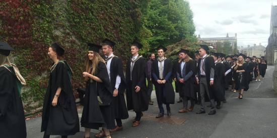 2016 Maynooth University Graduation-Design Innovation