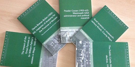 Five new publications in Maynooth Studies in Local History