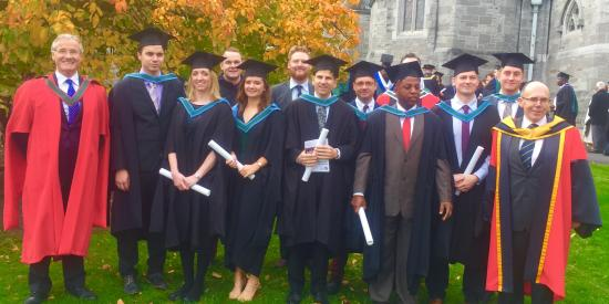MScDI Graduation 2016 Maynooth University