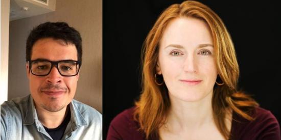 Cesar Martinez and Emma Worthington