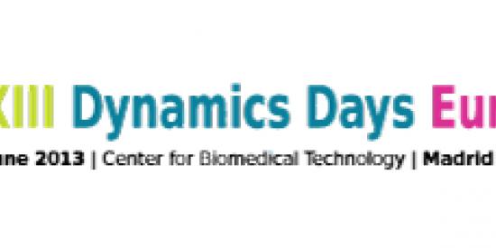 MathsPhysics - Dynamic Days XXXIII Logo - Maynooth University