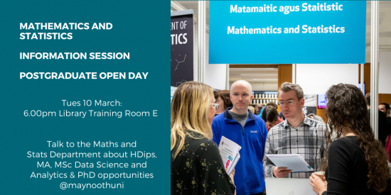 Maths & Stats PG Open Day Image