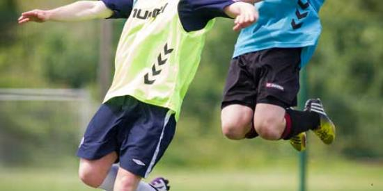 Soccer - Soccer Trials 2014 - Maynooth University