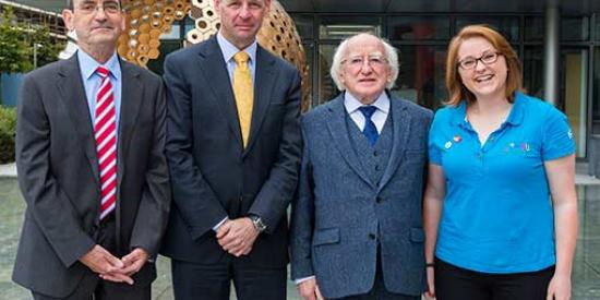 Communications - Michael D Higgins and Philip Nolan Social Justice Week 2014 - Maynooth University