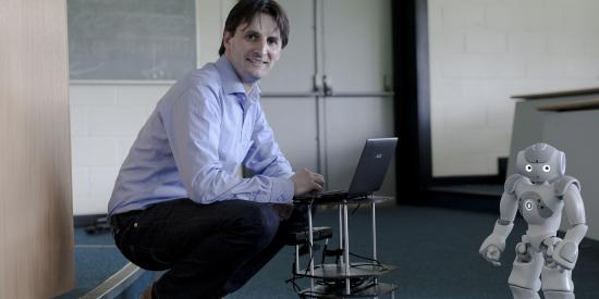 Electronic Engineering - John McDonald with robocup - Maynooth University