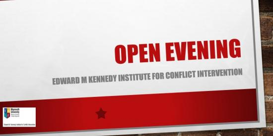 Kennedy institute Open Evening