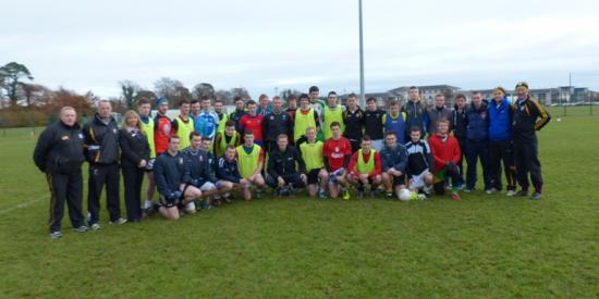 GAA - Colm Coopers visit - Maynooth University