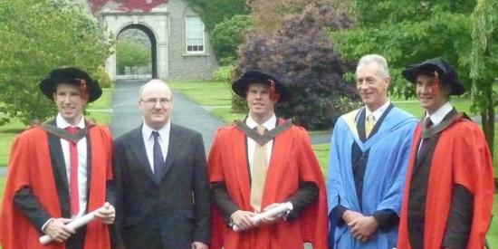 Department of Electronic Engineering 2013 PhD Graduates - Maynooth University
