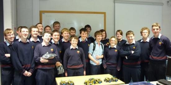 Castlecomer Community School Transition Year Students