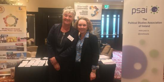 Mary Murphy and Claire Mc Ging at PSAI Conference